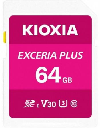 KIOXIA 64GB normalSD EXCERIA PLUS UHS1 R100...