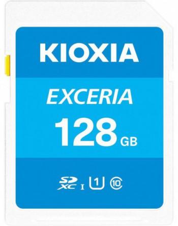 KIOXIA 128GB normalSD EXCERIA UHS1 R100 (LNEX1L128GG4)
