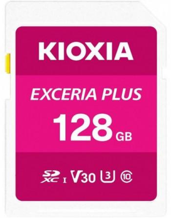 KIOXIA 128GB normalSD EXCERIA PLUS UHS1 R100...