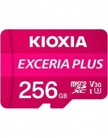 KIOXIA 256GB microSD EXCERIA PLUS MicroSD UHS1 R98...
