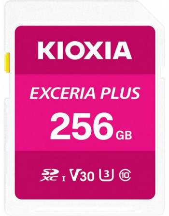 KIOXIA 256GB normalSD EXCERIA PLUS UHS1 R100...
