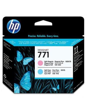 HP No 771 Açık Kırmızı,Açık Mavi Baskı Kafası (CE019A)