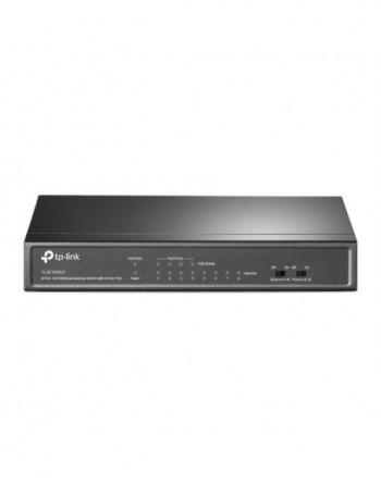 TP-LINK 8-Port 10/100Mbps Desktop Switch with 4-Port...
