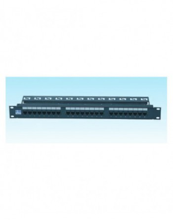 24 Port Cat6 UTP Patch Panel Dolu