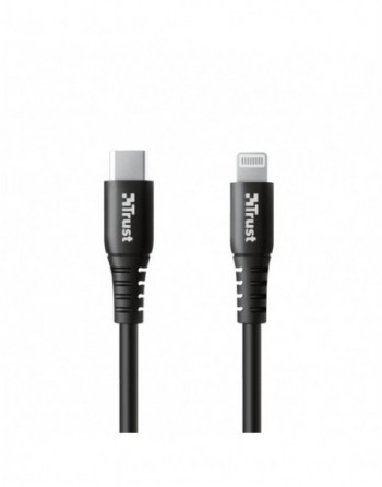 TRUST NDURA USB TO LIGHTNING CABLE 1M (23569)