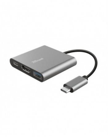 TRUST DALYX 3-IN-1 USB-C ADAPTÖR (23772)