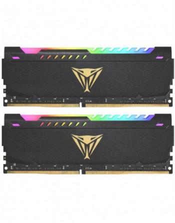 PATRIOT 16GB (8GBx2) 3200MHz DDR4 VIPER DUAL RGB...