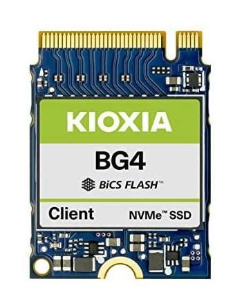KIOXIA SSD 512GB BG4 M.2 2230 PCI EX2200/1400...