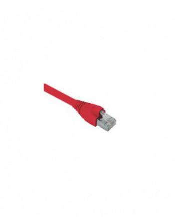 Cat6A S/FTP Patch Cord LSOH 0,5m Kırmızı