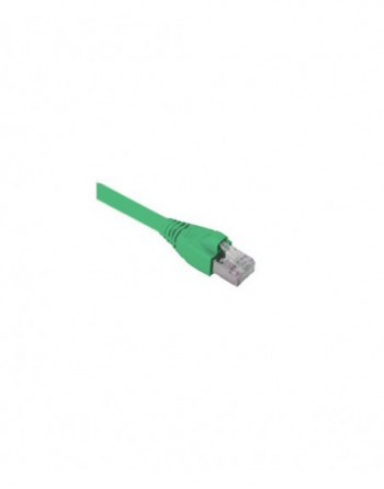 Cat6A S/FTP Patch Cord LSOH 0,5m Yeşil