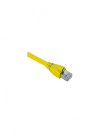 Cat6A S/FTP Patch Cord LSOH 0,5m Sarı