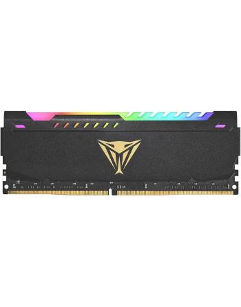 PATRIOT 8GB (8GBx1) 3600MHz DDR4 VIPER RGB BLACK...