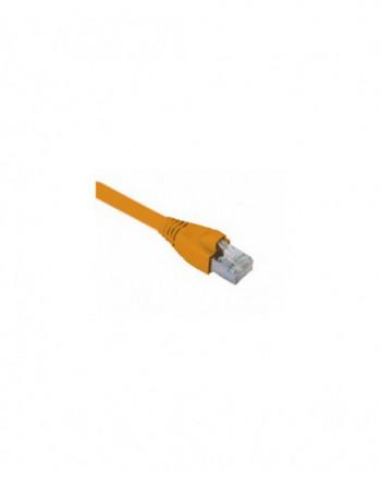 Cat6A S/FTP Patch Cord LSOH 1m Turuncu