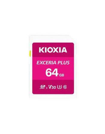 KIOXIA FLA 64GB EXCERIA PLUS microSD C10 U3 V30 UHS1...