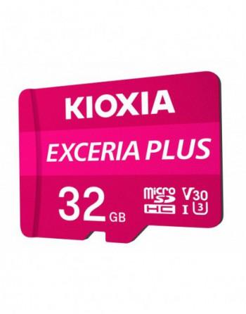 KIOXIA FLA 32GB EXCERIA PLUS microSD C10 U3 V30 UHS1...