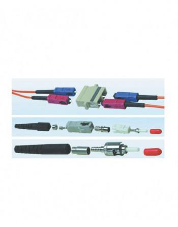 LC Dupleks MM Plastik Adaptor Bej