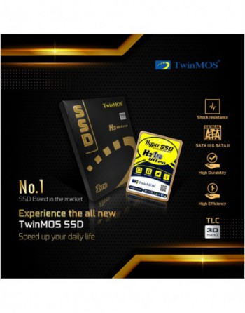"TWINMOS TwinMOS 1TB 2.5"" SATA3 SSD 580Mb-550Mb/s..."