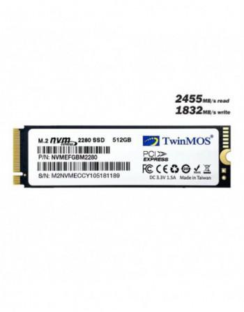 TWINMOS TwinMOS 512GB M.2 PCIe NVMe SSD...