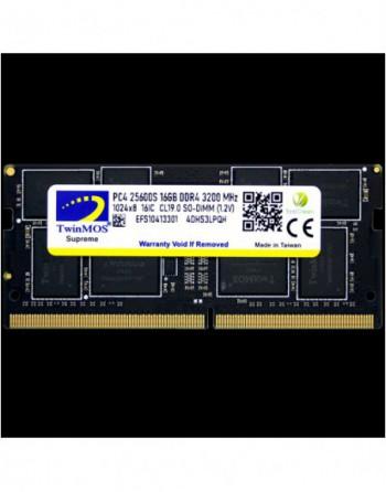 TWINMOS TwinMOS DDR4 16GB 3200MHz Notebook Ram...