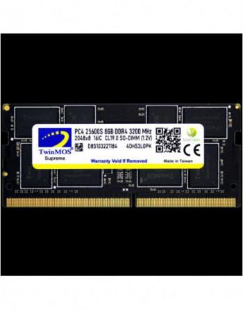 TWINMOS TwinMOS DDR4 8GB 3200MHz Notebook Ram...