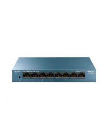 TP-LINK MS108G 8-Port 10/100/1,000 Mbps Masaüstü...