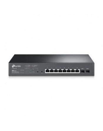 TP-LINK JetStream 10-Port Gigabit Smart Switch with...