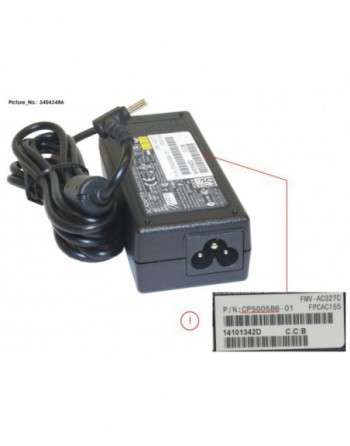 AC-ADAPTER 19V 65W (3-PIN)
