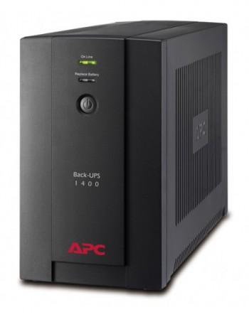 APC Back UPS 1400VA 230V AVR Schuko Sockets