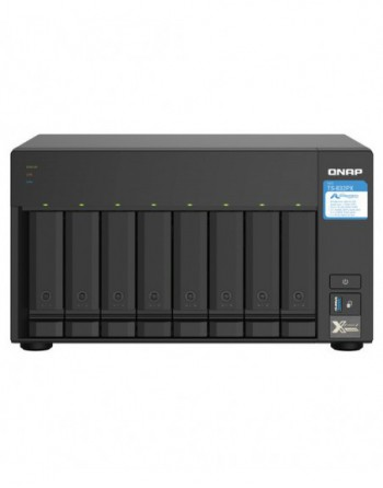 8-bay desktop NAS,AL-324 4-core 1.7GHz,4GB...