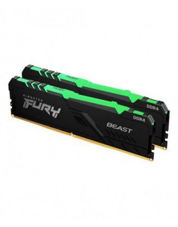 Kingston 16GB 3200MHz DDR4 CL16 DIMM (Kit of 2) FURY...