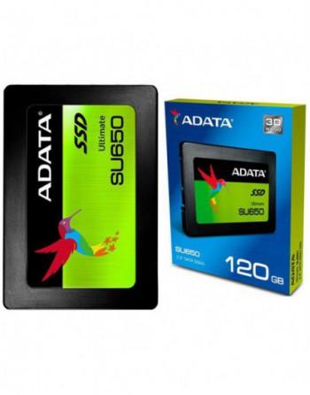 """ADATA 120GB SU650 Sata 3.0 520-450MB/s 7mm 2.5""""..."""