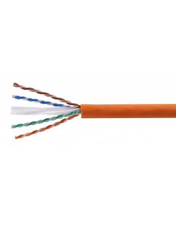 Cat6 U/UTP LSOH Kablo 1000m Turuncu