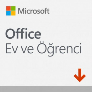 Microsoft Office Ev ve Öğrenci 2019 Elektronik...