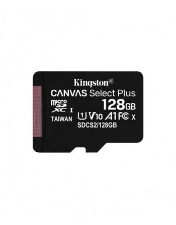 Kingston 128GB microSDXC Canvas Select Plus 100R A1...