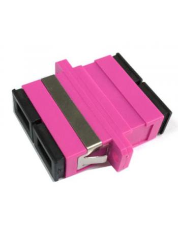 SC Duplex MM OM4 Plastik Adaptör Violet