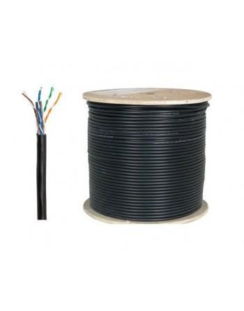 Cat6 U/UTP LSOH Kablo 500m Siyah