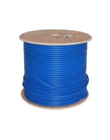 Cat6 U/UTP LSOH Kablo 1000m Mavi