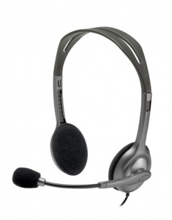 LOGITECH H110 Kablolu Mikrofonlu Stereo Kulaklık /...