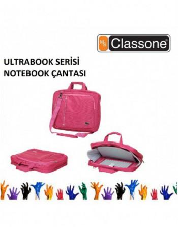 "CLASSONE 13-14-15.6"" Ultracase Serisi Pembe Notebook..."