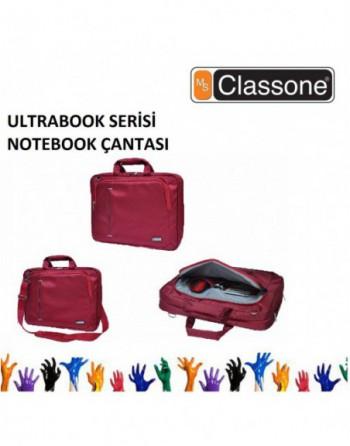 """CLASSONE 15.6"""" Ultracase Serisi Kırmızı Notebook..."""