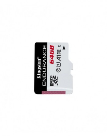Kingston 64GB microSDHC Endurance 95R/30W C10 A1...