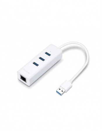 TP-LINK USB 3.0 3 Port Hub ve Ethernet Adaptör...
