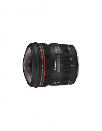 Canon  EF 8-15mm f/4 USM Balık Gözü Lens