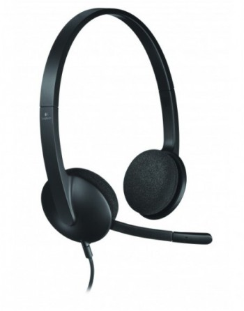 LOGITECH H340 Kablolu Mikrofonlu Kulaklık / 981-000475