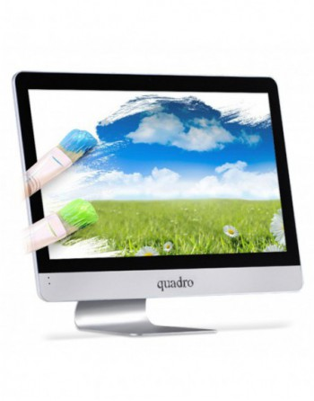 """QUADRO Ci3 4130T 2.9 GHz 4GB 240GB SSD 21.5"""" Free..."""