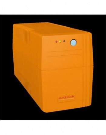 MAKELSAN LION Line-Intractive 650VA 5-12 Dk, 7AH...