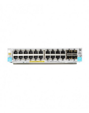 HP 20-port 10/100/1000BASE-T PoE+ / 4-port 1G/10Gb