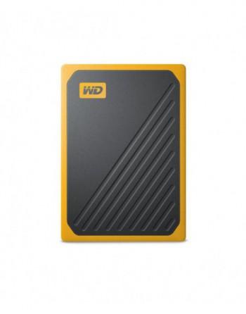 WD My Passport Go 500GB SSD Black w/ Amber trim
