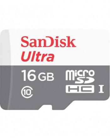 SanDisk UA And microSD 16G 80MBs Cl10