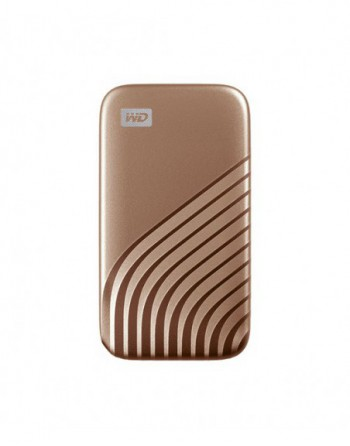 WD My Passport SSD 1TB Gold PC & Mac Compatiable